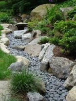 Inspiring Dry Riverbed and Creek Bed Landscaping Ideas 18