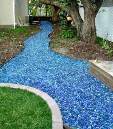 Inspiring Dry Riverbed and Creek Bed Landscaping Ideas 27