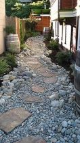 Inspiring Dry Riverbed and Creek Bed Landscaping Ideas 8