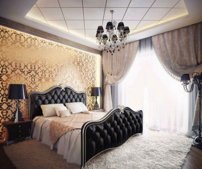 Lovely Romantic Bedroom Decorations for Couples 52