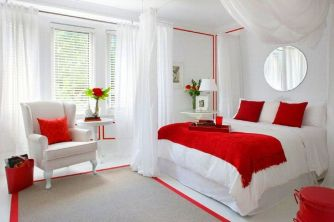 Lovely Romantic Bedroom Decorations for Couples 76