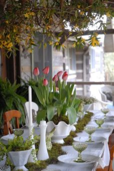 Spring Home Table Decorations Center Pieces 32