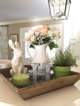 Spring Home Table Decorations Center Pieces 58