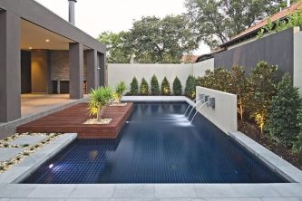 Stunning Outdoor Pool Landscaping Designs 108