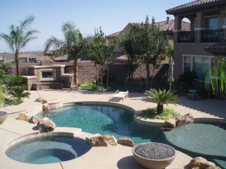 Stunning Outdoor Pool Landscaping Designs 11