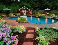 Stunning Outdoor Pool Landscaping Designs 18