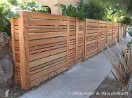 Stunning Privacy Fence Line Landscaping Ideas 19