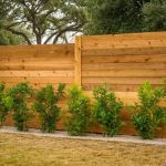 Stunning Privacy Fence Line Landscaping Ideas 56