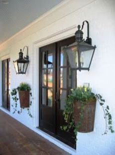 Vintage Hanging Gas Lanterns for Front Door Decorations 27