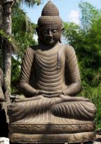 Awesome Buddha Statue for Garden Decorations 44