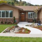 Front Yard and Garden Walkway Landscaping Inspirations 10