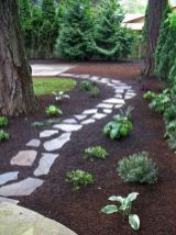 Front Yard and Garden Walkway Landscaping Inspirations 21
