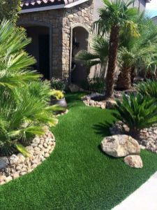 Modern and Contemporary Front Yard Landscaping Ideas 37
