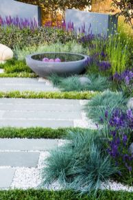 Modern and Contemporary Front Yard Landscaping Ideas 69