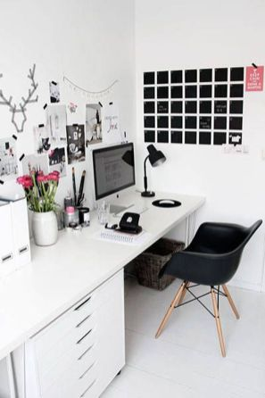75 Most Favorite Home Workspace Inspirations Design 55