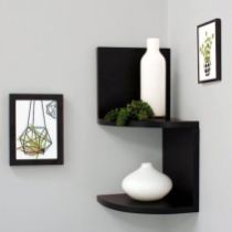 Corner Wall Shelves Design Ideas for Living Room 5