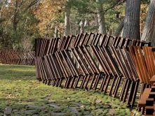 Stunning Creative Fence Ideas for Your Home Yard 23