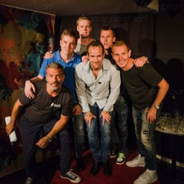Mats Olausson, Tobias Erehed, Pierre Mathisson, Måns Möller, Ludde Samuelsson, Anders Bergström