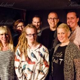 Anna-Lisa Gustavii, Eva-Lotta Olofsson, Pierre Mathisson, Martin Svensson, Lars Magnusson, Linus Mattsson, Carin Reijmer