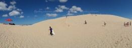 Sand-boarding, Stockton sand dunes
