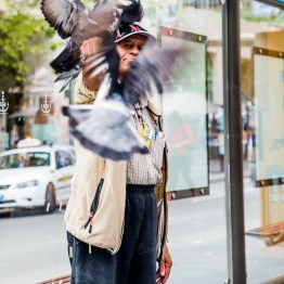 The bird man!