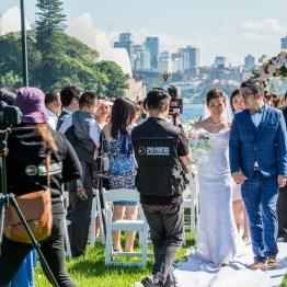 Wedding in Royal Botanic Garden, Sydney