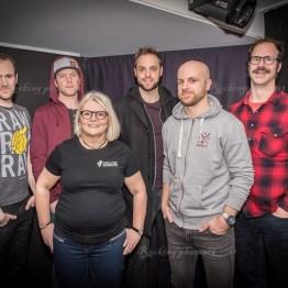 Pierre Mathisson, Joel Andersson, Agneta Gottberg, Robin Paulsson, Tobbe Ström, Gussy Löwenhielm