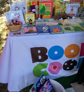 Books & Cookies LA booth at Fall Fest 2015