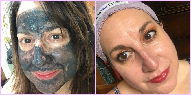 activated charcoal, mud mask, face mask, antiaging