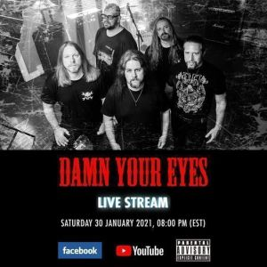 Entrevista con Artie de Damn Your Eyes