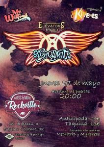 Elevators tributo de Aerosmith el 27 de mayo en Madrid