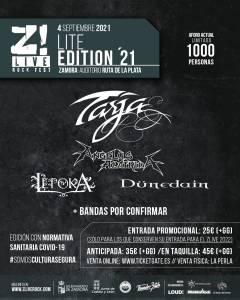 Dünedain en el Z! Live rock fest 2021