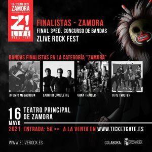 Finales concurso de bandas Z! Live Rock