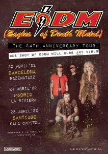 Eagles OF Death Metal celebrarán su 24 aniversario