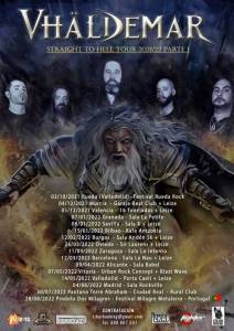 Vhäldemar - Straight To Hell Tour 2021-2022 Parte I