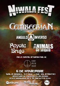 NIWALA FEST - En Alicante confirma su cartel