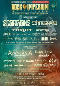 Rock Imperium Festival 2022 - Distribución por día