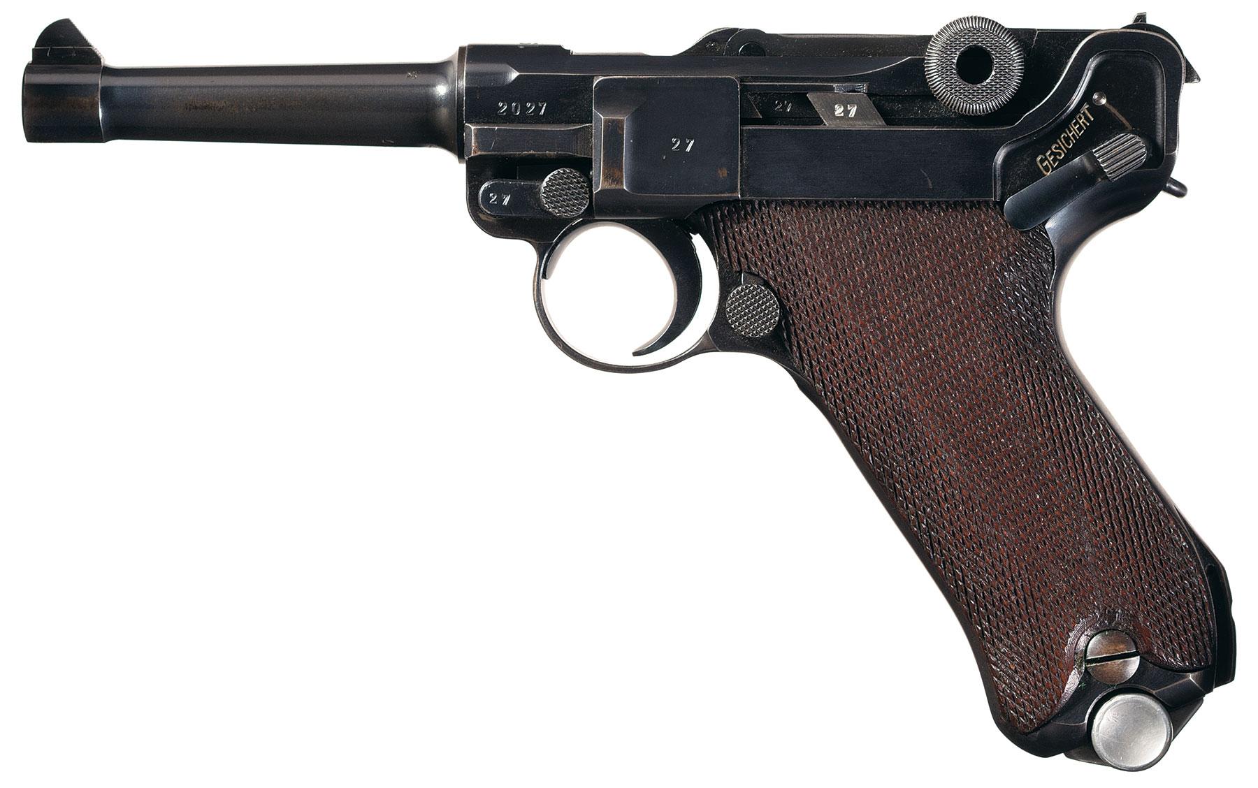 Excellent World War Ii Era Mauser S 42 Code Date Luger