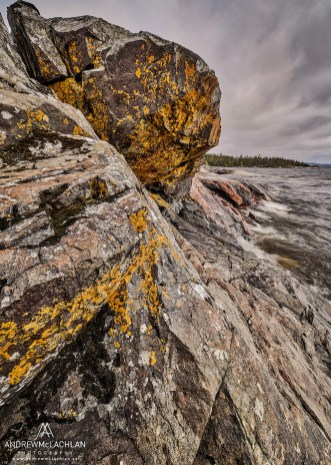 Lake Superior's Rugged Coast, Ontario, Canada