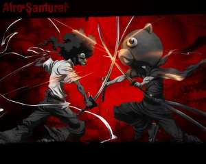 Afro Samurai Vs Teddy Bear??