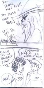Gandalf play a game