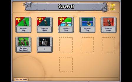 O modo Survival: difícil, mas não impossível! Mas só para quem já terminou o básico!