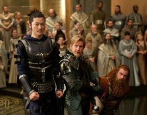 Os amigos de Thor! Ito Oogami, Autólicos e o rei corno do filme Tróia? Tem a Lara Croft, mas Não está na imagem! Hein??