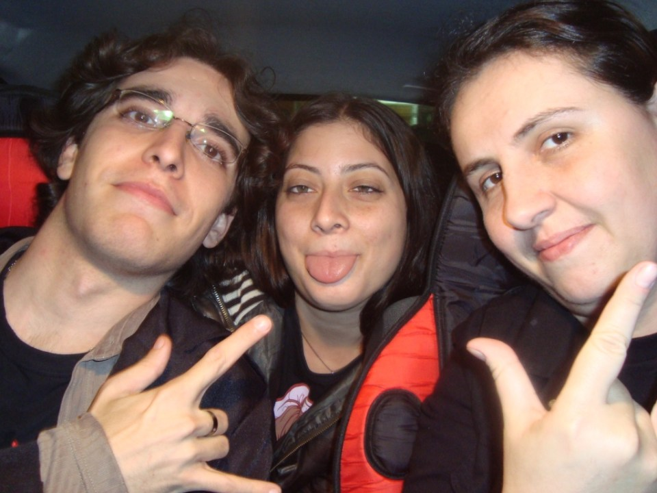 Maninho Jean, Pri e Priss (Rock Me ON que vos escreve) Puro Rock!