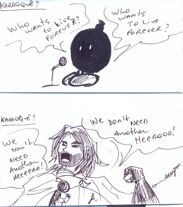 Tirinha dupla: Bombinha e Aragorn!!
