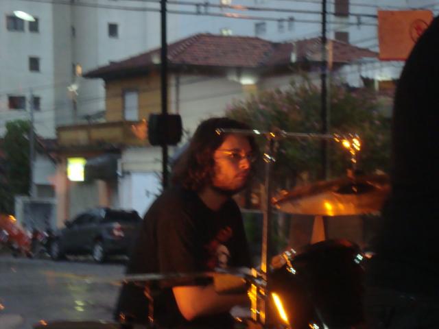 Marcus Quintella, o baterista!