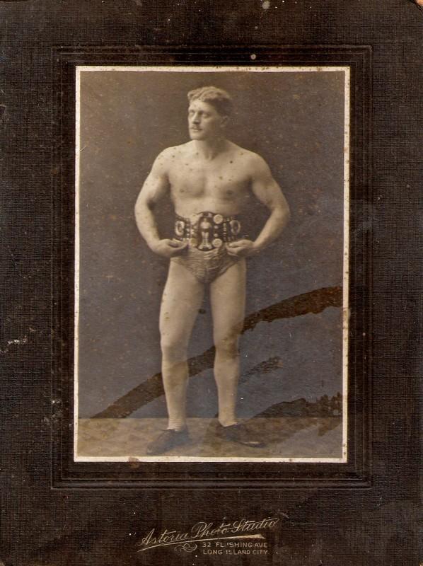 Lutador de Boxe do período Vitoriano.
