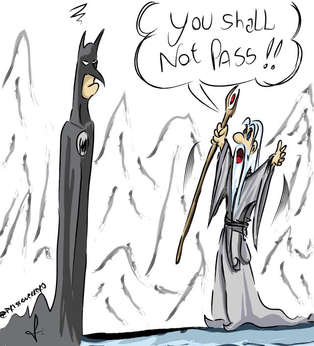 Batman VS Gandalf
