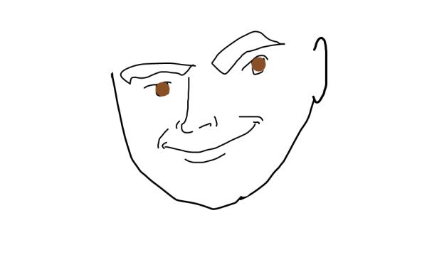 Desenho bem mais ou menos rsrsrs