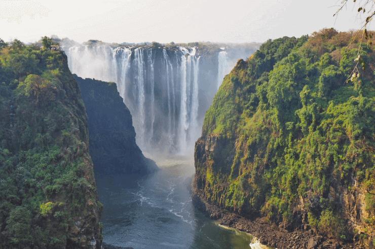 Victoria Falls - Zim Zam Bridge